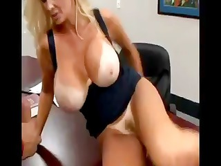 truly busty golden-haired brittany oneil eats