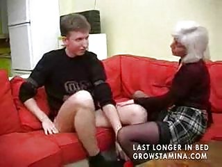 granny with saggy bra buddies gets screwed part7
