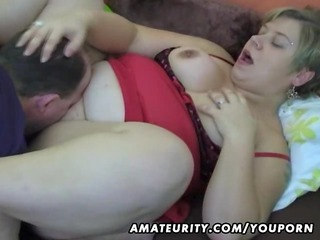 chunky dilettante wife homemade suck and fuck