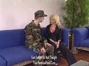 mature woman hecks juvenile soldier&#0114_s