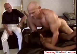 ebony wife screwed by white males