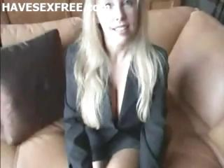 blond breasty wife get home fucking and facial