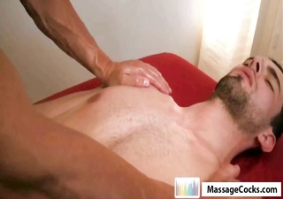 iron cock oil massage