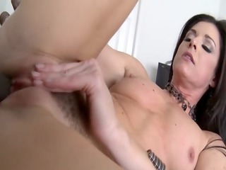 small titted milf fucked harshly by bbc and thats