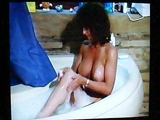 63s milf gets dirty in bathtub