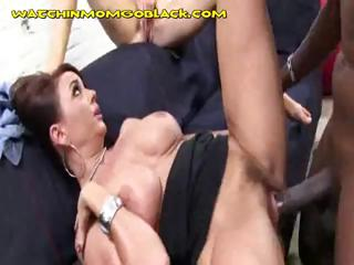 darksome cock on mom and daughter