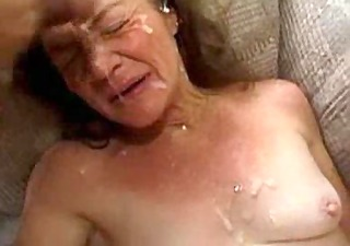 granny takes a lot of facual cumshots