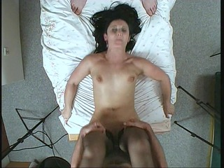 mother i fucks with stockings and boots on (clip)