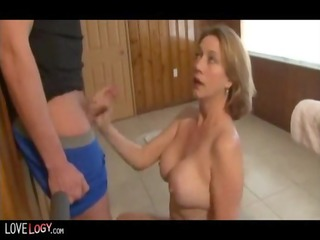 threesome fantastic and awesome cumshots,