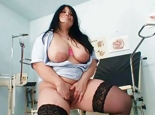 huge tits amateur mama rosana widens her fat
