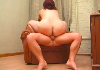 redhead chubby older mother
