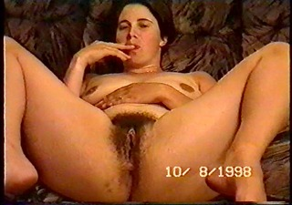 amateur drunk wife spreads her legs and fingers