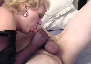 wicked auntie fannys nylon handjob