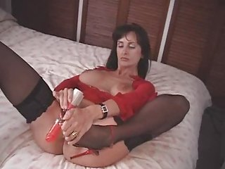 british mother i fucks herself with a pair of