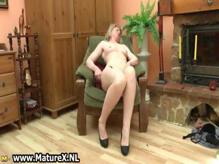 slutty aged housewife loves to play part2