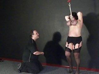 andreas tit hanging and extreme mature bdsm