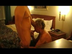granny shirley receives screwed by the cougar