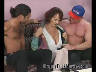 granny with firm mangos fucking