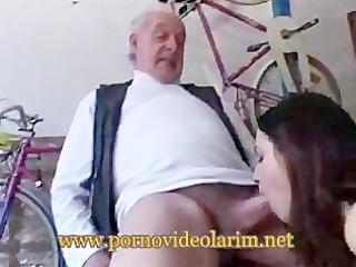 old man youg girl drilled porn