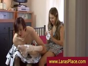 aged watch ally put on nylons and eat pussy
