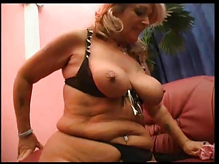 blonde lesbian aged loverly milf