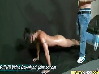 wenona bodyoil mother i lingerie muscle