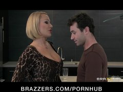 cheating big-tit golden-haired mother i fucks