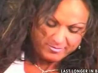 hot mature breasty brunette bodybuilder banged