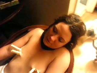 submissive wife in the timeout chair