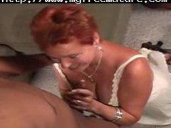 redhead mommy vs darksome man mature mature porn