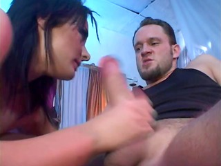 nylon wearing hussy acquires sodomised