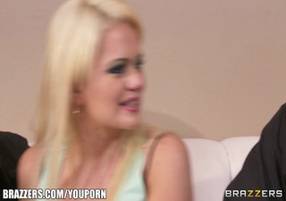 fit blonde wench alexis ford is interviewed and