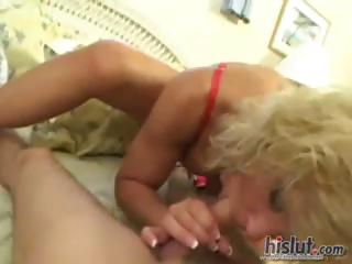 busty older golden-haired tj powers gives his pov