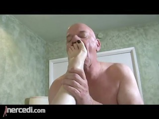 latin mature wife has her feet fucked big tits,