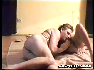 older amateur wife sucks and bonks with spunk