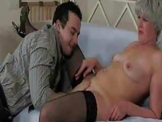 older d like to fuck in stockings gets fu...