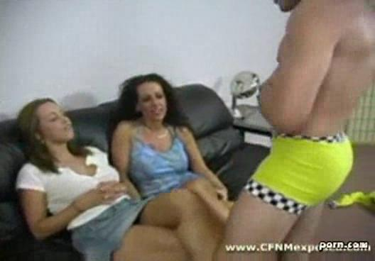 cfnm mom give daughter stripper to blow