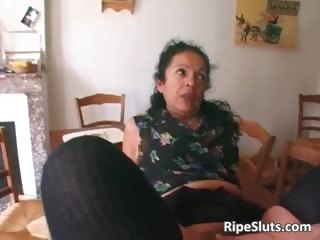 horny mature whore double drilled as one part4