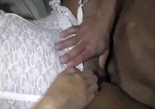 hubby and me white lingerie 11