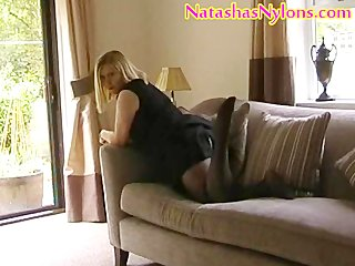 bbw english mother i mummy wife in pantyhose with