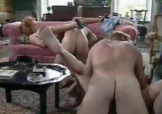 lucky guy having sex with busty moms by troc