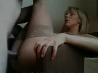 mother i takes giant cumshot on her glasses -
