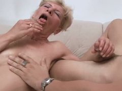 hot granny with young gent