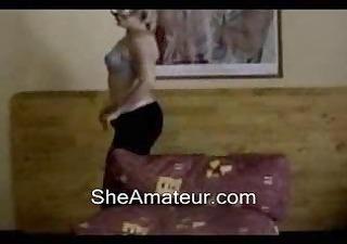 sexy mamma webcam dance and disrobe