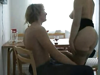 sexually excited cheating wife fucking her young