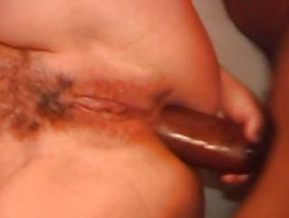 dilettante wife anal and facial with a large dark