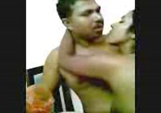 hawt naked south indian wife smooches and licks