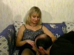 blonde older cheats on her husband