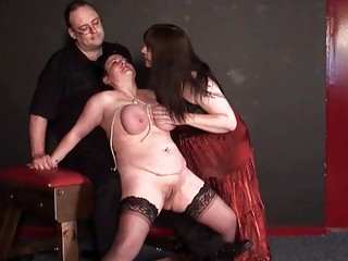 andreas mature lesbo bdsm and whipping to tears