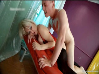 nasty blonde hoe acquires spanked part5